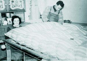 Première génération de maître Litier de la famille Gamblin : Maurice et Marie-Louise